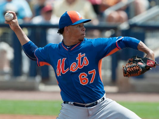 MLB: New York Mets at Tampa Bay Rays