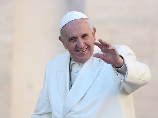 Pope Attends His Weekly Audience In St. Peter's Square