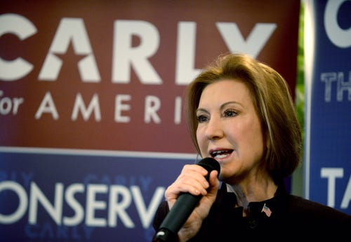 Carly Fiorina drops out of GOP presidential race