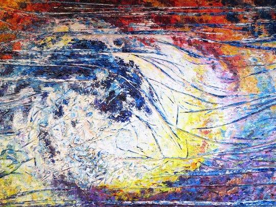 """""""#BlueC"""" by Olga Hotujac of Troy."""
