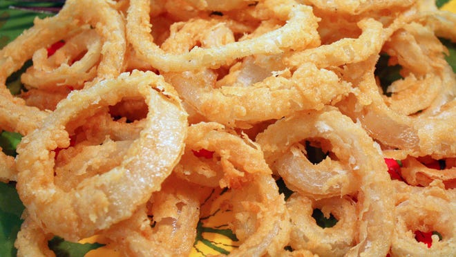 Andrea's Favorite Onion Rings.