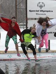 The annual Polar Plunge raises money for Special Olympics