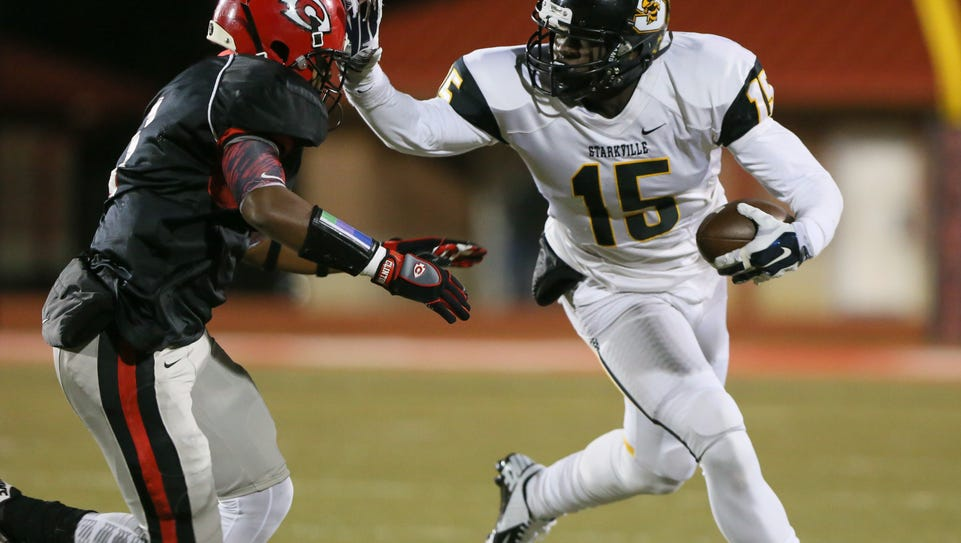 Starkville wide receiver A.J. Brown is one of four