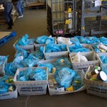 Thousands of pounds of food were collected in the annual NALC Stamp Out Hunger Food Drive