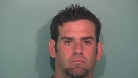 Christopher Ferguson, 37, was arrested on theft and methamphetamine charges.