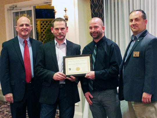 The  Hanover Area Chamber of Commerce award for Small