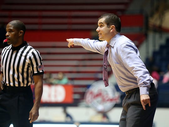 Ole Miss women's basketball coach Matt Insell will