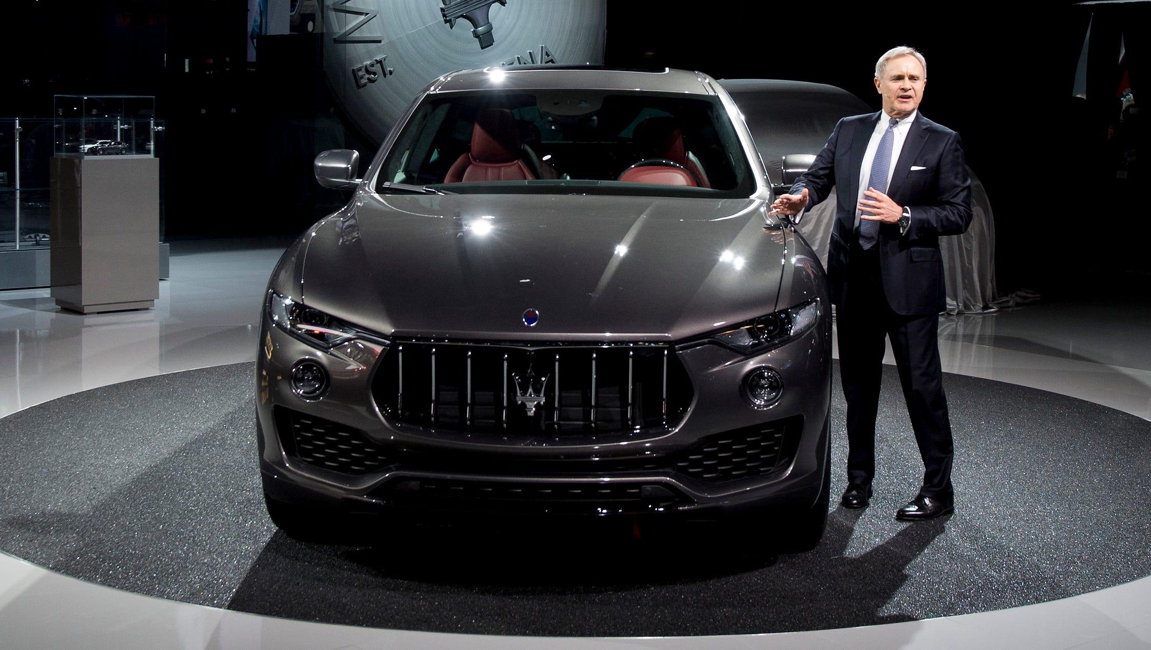 Italian Luxury Brand Maserati Plans Electric Vehicles