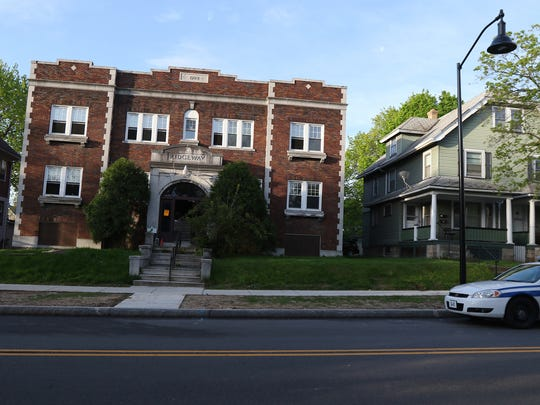 Rochester firefighters investigated a report of a gas smell at 401 Ridgeway Avenue Monday.