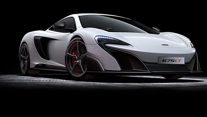 The McLaren 675LT will be one of its fastest cars.