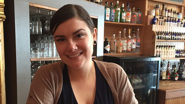 Kala Brooks, a bartender at Top of the Monk, said her
