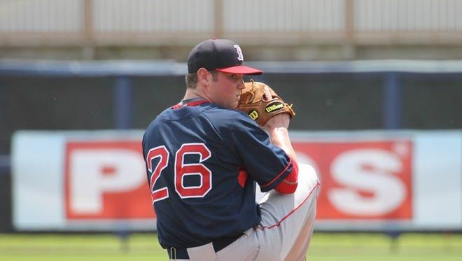 Logan Allen is a pitcher in the San Diego Padres organization.