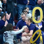 Greencastle's Gembe gets 1000th point in division clinching thriller
