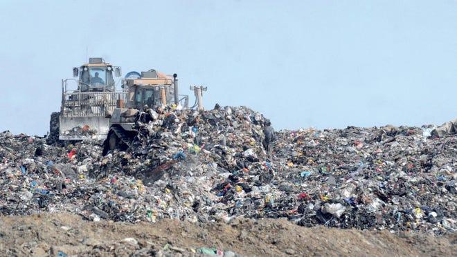 Big Run landfill near Ashland.