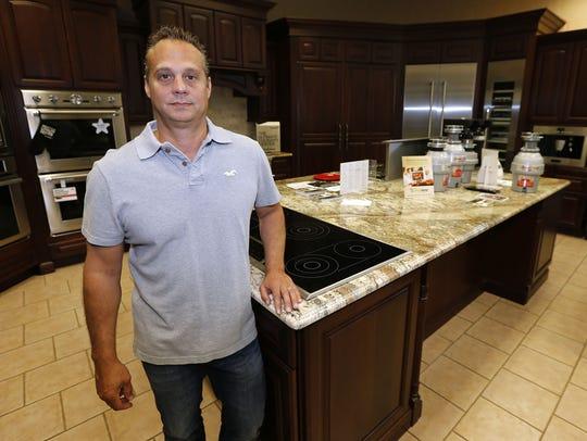 J.R. Zaleski, owner of Community Appliance in  Middletown.