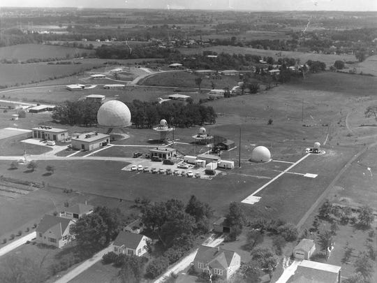 The M-74 Integrated Fire Control site in Waukesha (shown circa 1963) today is a public park.