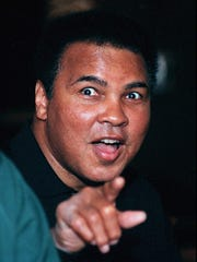 For much of his life, Ali was the most famous person in the world.-  - (GANNETT PHOTO NETWORK) ALI ONE/TWO: Muhammad Ali may be the most famous living person on earth. (GNS Photo by Sam Upshaw, Louisville Courier-Journal)