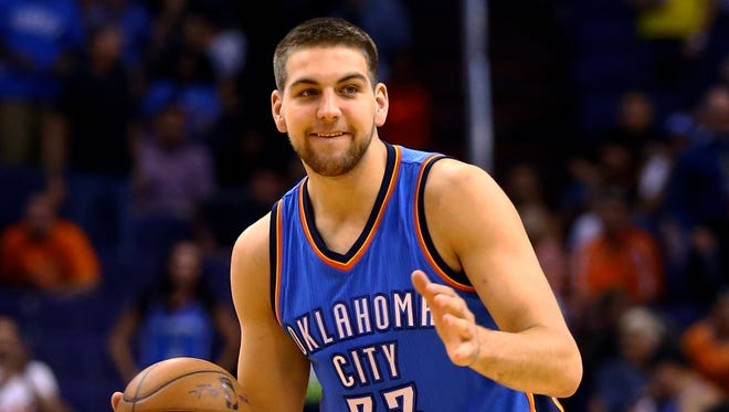 Mitch McGary against the Phoenix Suns at US Airways Center.