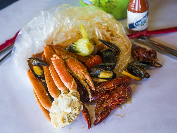 Angry Crab | Seafood boils are the signature offerings