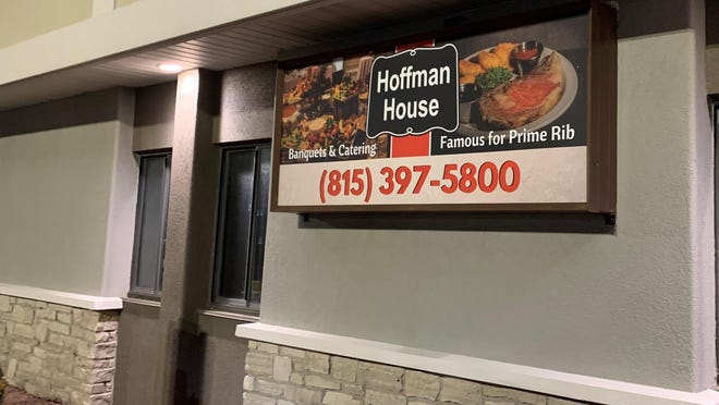 """The Hoffman House, 7550 E. State St., Rockford,  """"famous for prime rib,"""" has temporarily closed as of Monday, Sept. 7, 2020, because of coronavirus restrictions."""