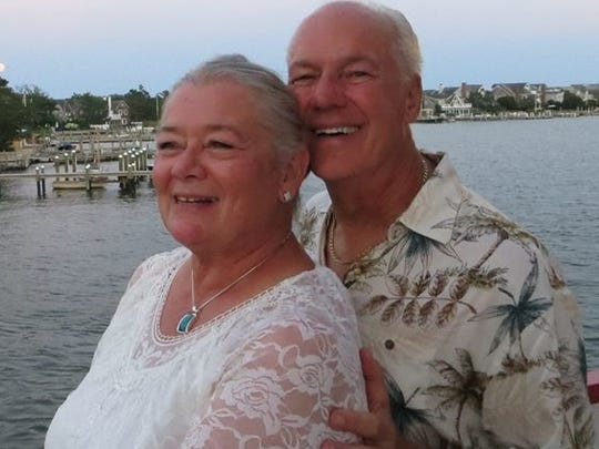 Rich Wieland met his wife, Mary Ann, online.