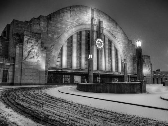 The Cincinnati Museum Center at Union Terminal, a National Historic Landmark, ranks among the city's most distinctive buildings.