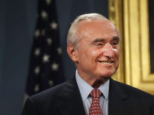 Bill Bratton Resigns As NYC Police Commissioner