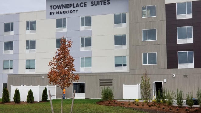 The newly built Townplace Suites by Marriott in Westport.