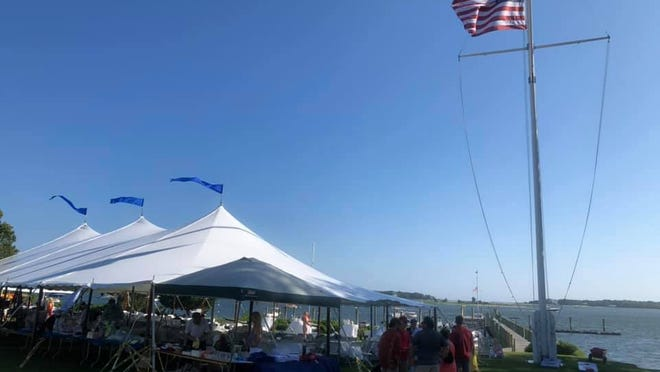 Scenes from the Osterville Rotary's 25th annual Bluefish and Striper Tournament at the Wianno Yacht Club.