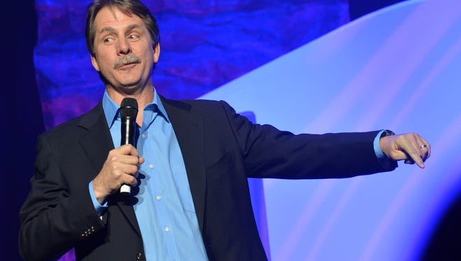 Comedian Jeff Foxworthy is an Atlanta Falcons fans first, but the Packers are his back-up team.