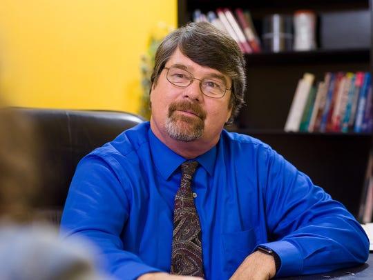 Dan Gardner, owner of Atlantic Finance, a payday loan