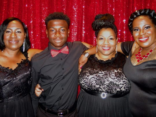 Evelyn Lusk, Kai Thomas, Jakeima Luckey, TaNisha Thomas