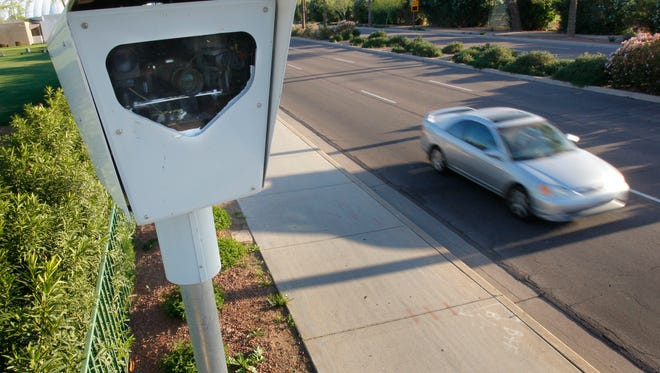 An Arizona lawmaker is proposing legislation that would ban the use of speed cameras statewide.