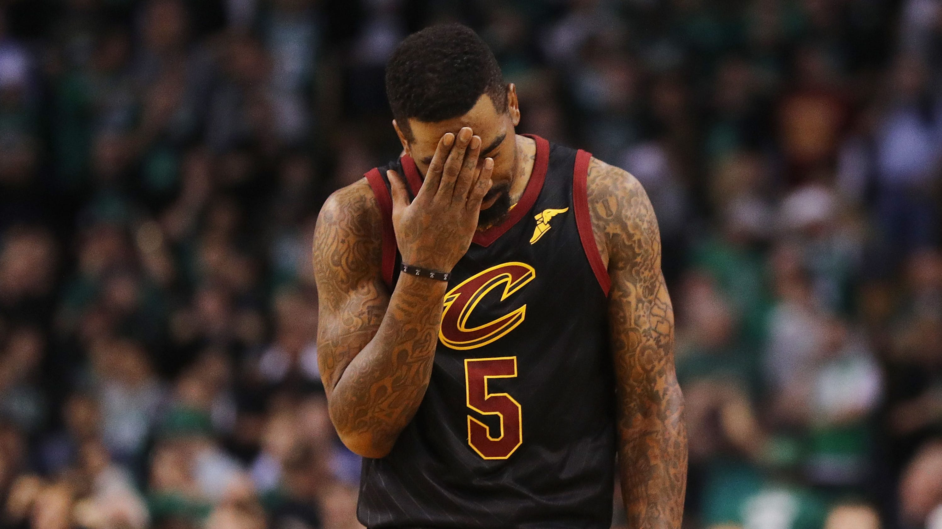 NBA players also couldn't believe J.R. Smith's blunder in Game 1