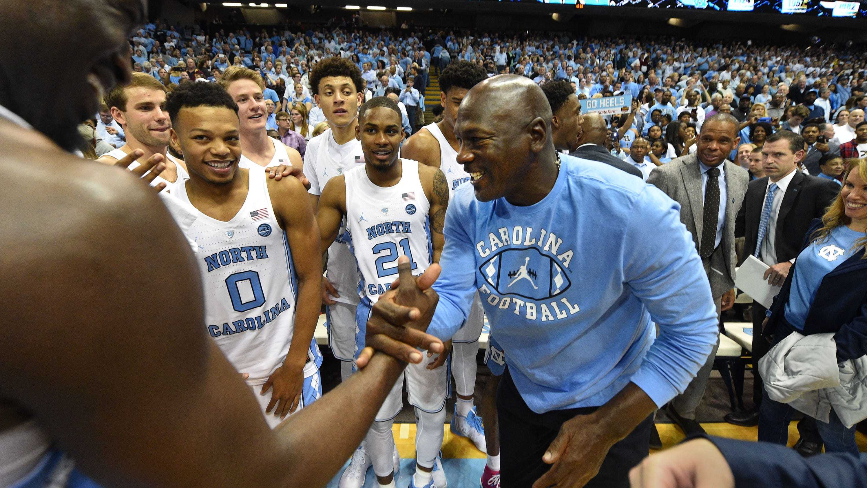 Mj Sent Roy Williams Funny Text After Unc Won