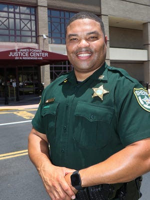 Volusia County Sheriff's Office Captain Ben Yisrael, Thursday June 18, 2020.