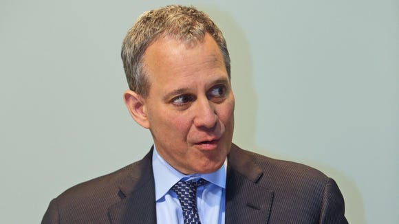 New York State Attorney General Eric Schneiderman.