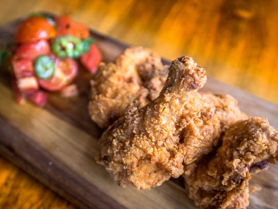 Look for gluten-free fried chicken on the menu at Downtown