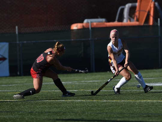 Sam Johnson is a senior forward on the SU field hockey