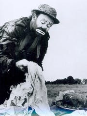 "Emmett Kelly (1898-1979), shown here in an early 1960s photo, was famous for portraying ""Weary Willie."" Kelly was buried in Lafayette."