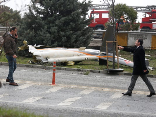 EPA TURKEY HELICOPTER ACCIDENT DIS TRANSPORT ACCIDENT TUR