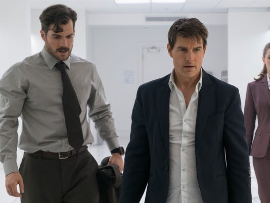 AP FILM REVIEW - MISSION: IMPOSSIBLE - FALLOUT A ENT