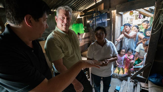 Former Vice President Al Gore in climate-change documentary 'An Inconvenient Sequel: Truth to Power,' which premiered at the Sundance Film Festival.