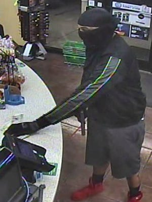 The Greenville County Sheriff's Office released a photo of the suspect in a robbery of 7 Eleven on Aug. 30, 2016.