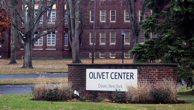 In this 2012 photo, an Olivet Center sign can be seen on a wall in front of the facility on Route 22 in Wingdale. The property was formerly part of Harlem Valley Psychiatric Center.