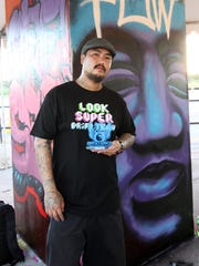 Offset Kings Guam 2014  winner of the Opake Can Control 2 graffiti competition, Paulo Madlangbayan. Don't miss the 2016 Offset Kings on Saturday at the Guam International Raceway.