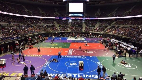 The Palace of Auburn Hills will no longer be home to the individual wrestling state finals beginning next season.