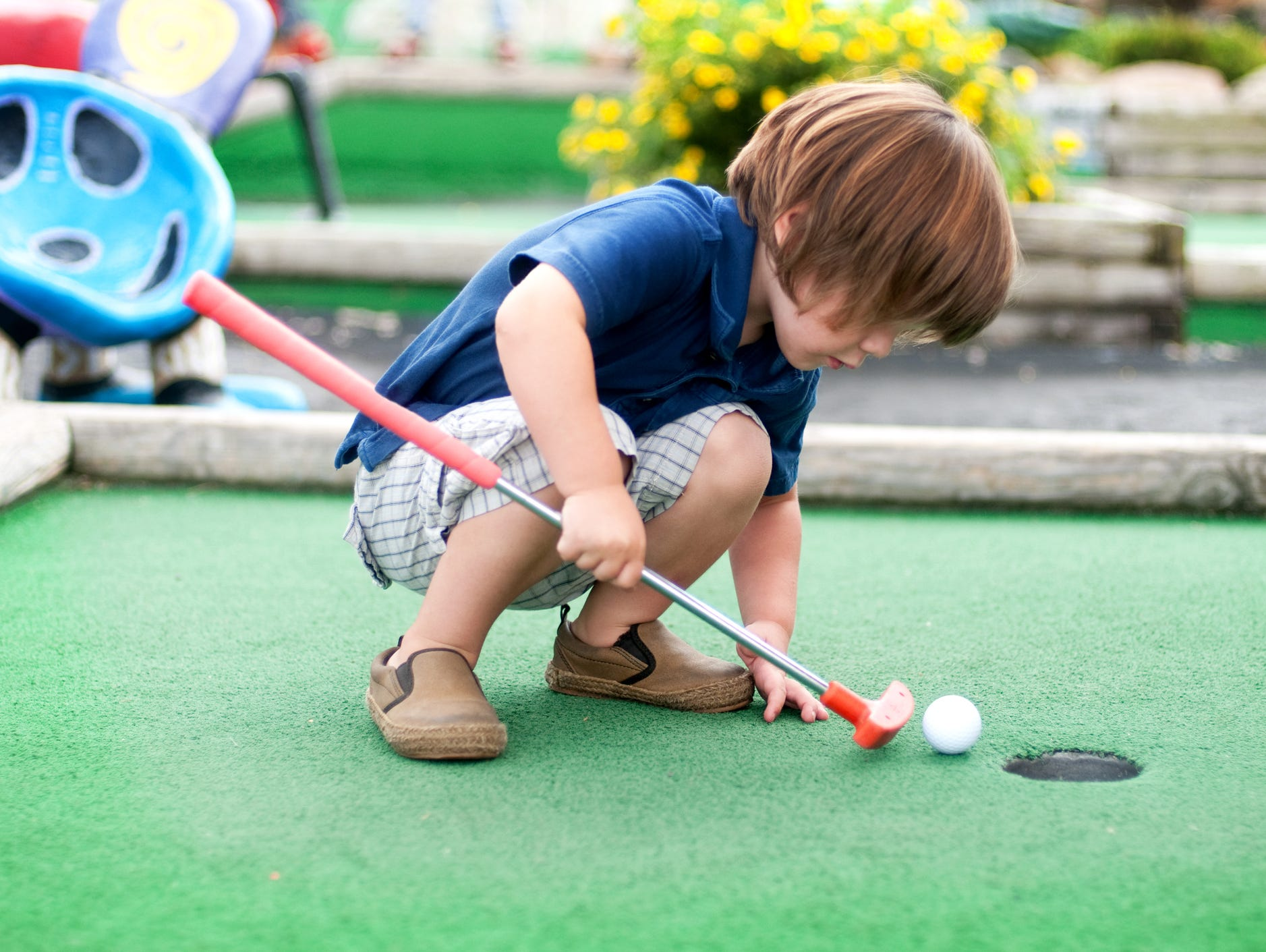 Insider, print your coupon today for free mini golf admission at Nascar Speedpark Smoky Mountains.
