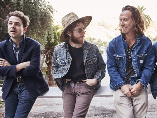 Dawes are Taylor Goldsmith (from left), Griffin Goldsmith,