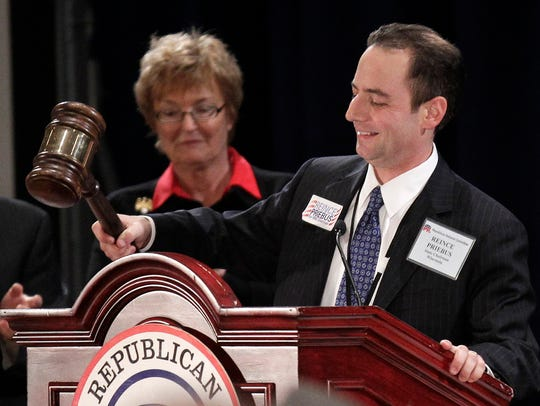 Newly elected Republican National Committee Chairman